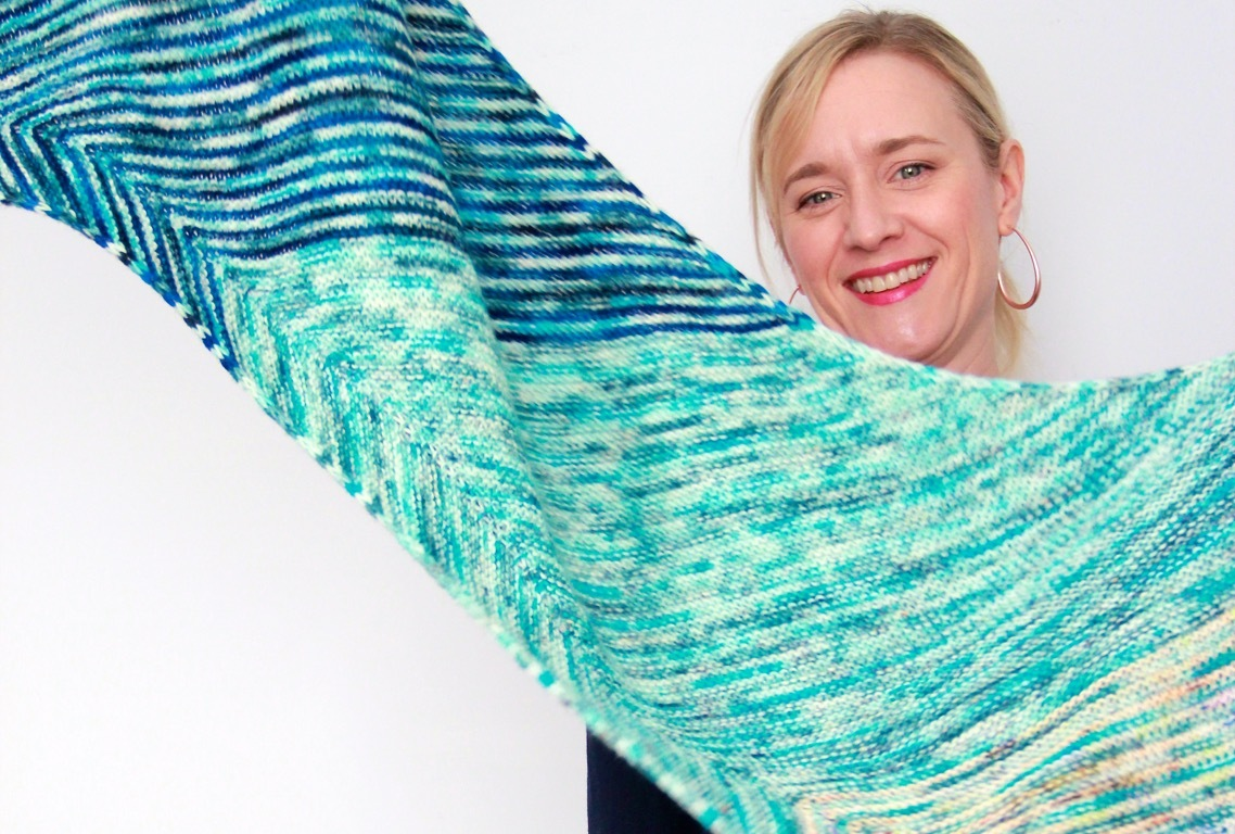 Frivolous at Last - Speckled Fade Scarf