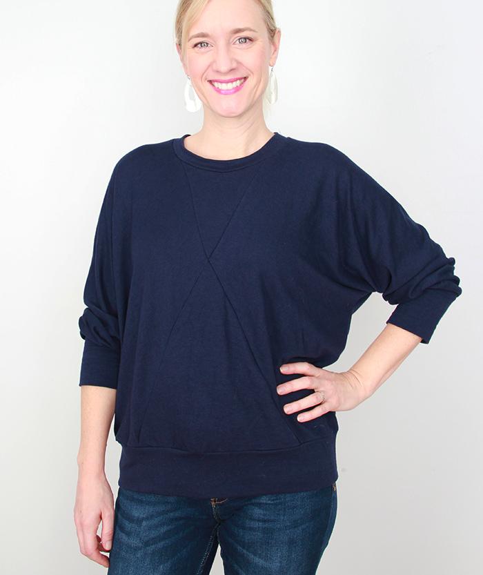 Frivolous at Last - Papercut Pinnacles Sweater