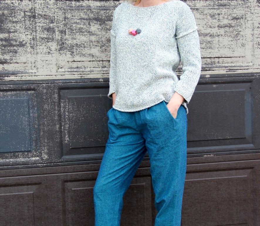 Frivolous at Last - Named Alexandria Trousers