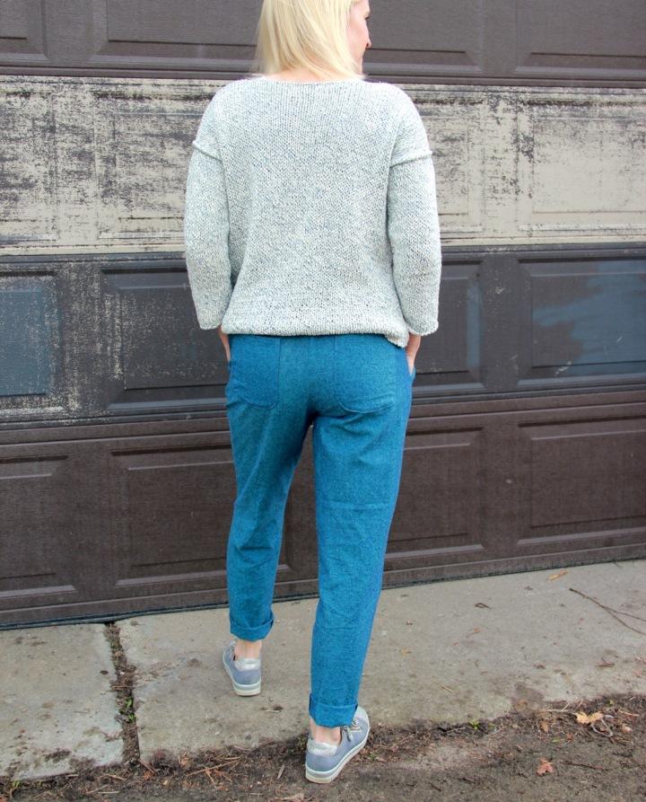 Frivolous at Last - Named Alexandria Trousers Back View