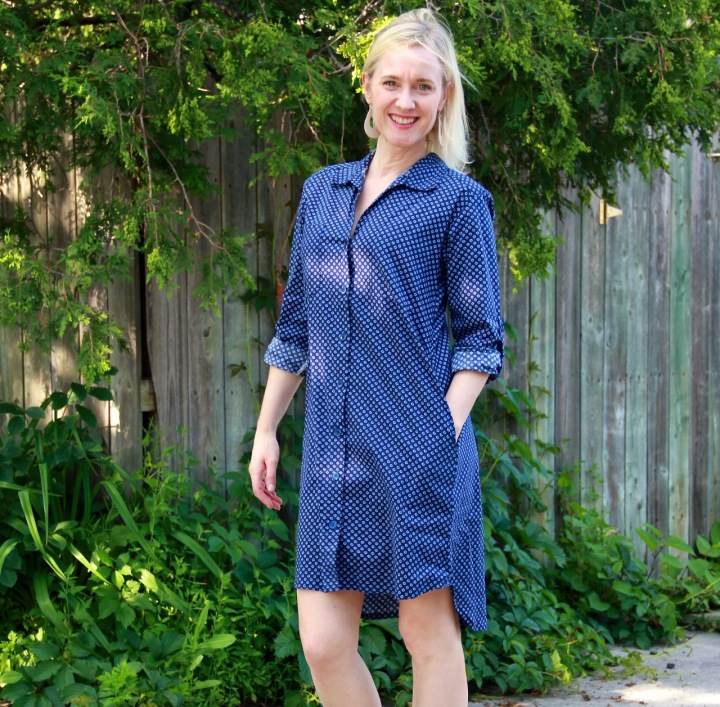 Frivolous at Last - Sew Over It Alex Shirt Dress
