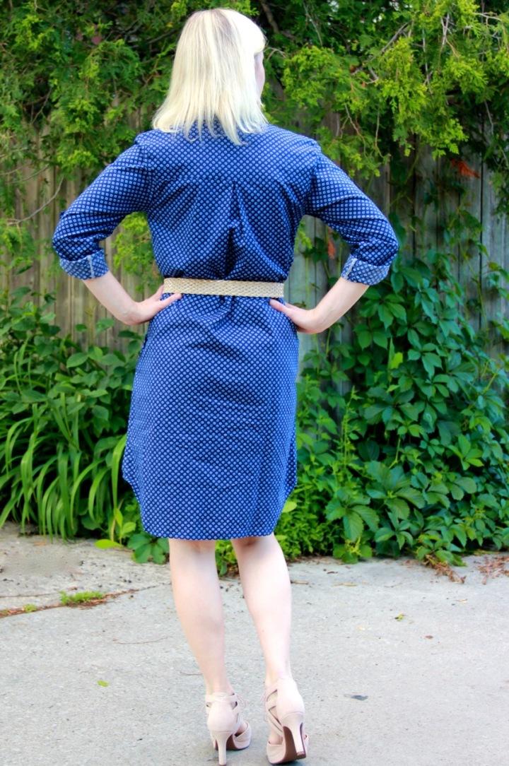 Frivolous at Last - Sew Over It Alex Shirt Dress