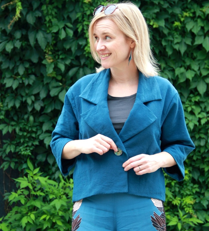 Frivolous at Last - Surtout Jacket by Ensemble Patterns