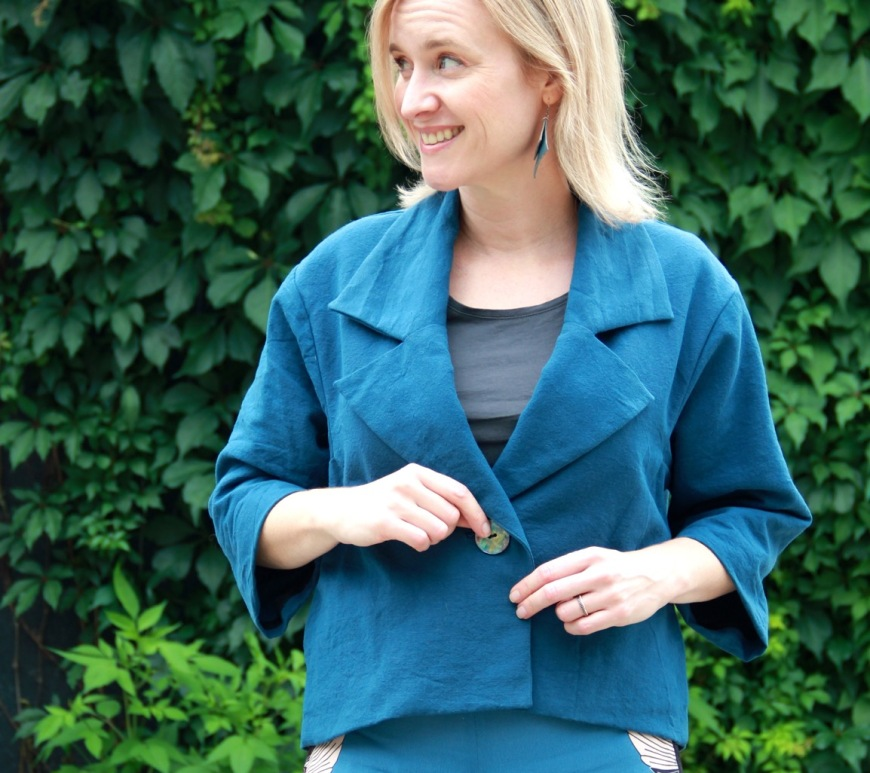 Frivolous at Last - Surtout Jacket by Ensemble Patterns