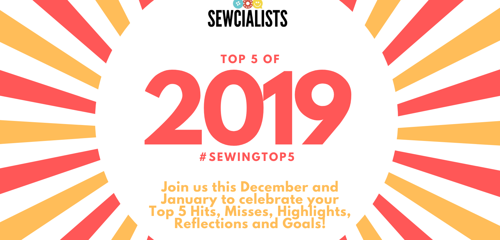Sewcialists Top 5 of 2019 #sewingtop5