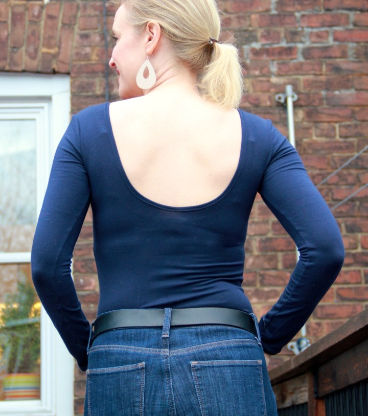 Frivolous at Last - Kortney Body Suit by Rad Patterns - back view