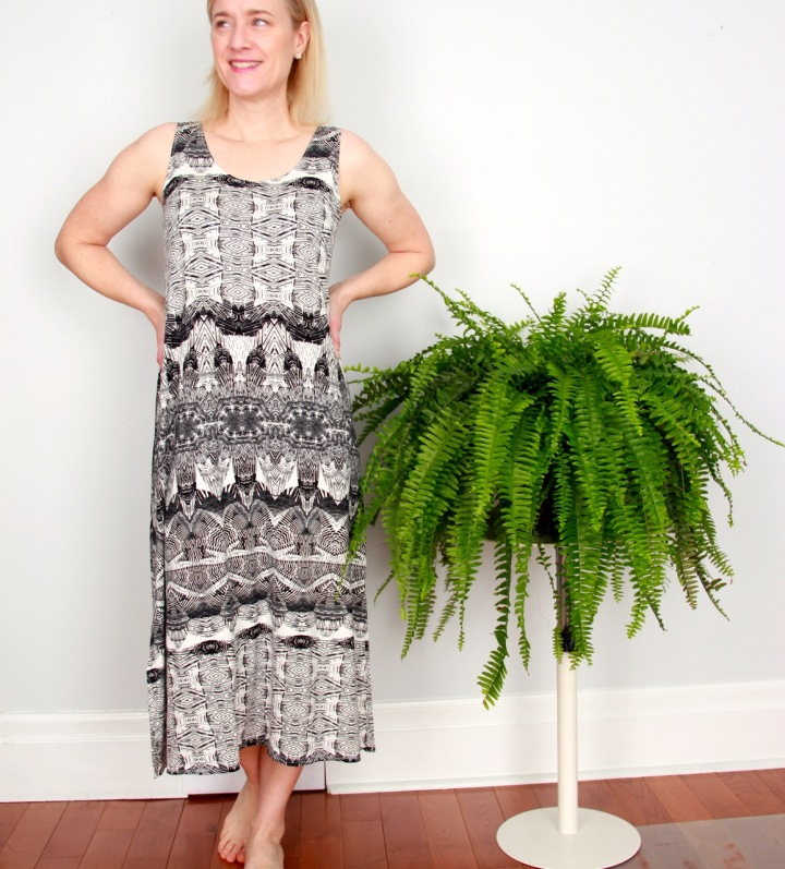 Frivolous at Last - Sew House Seven Underwood Dress