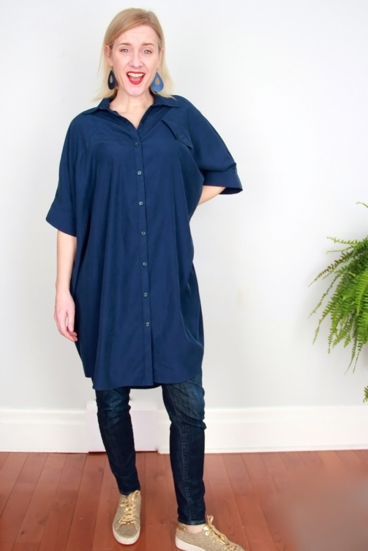 Frivolous at Last - Ralph Pink Sahara Shirt Dress