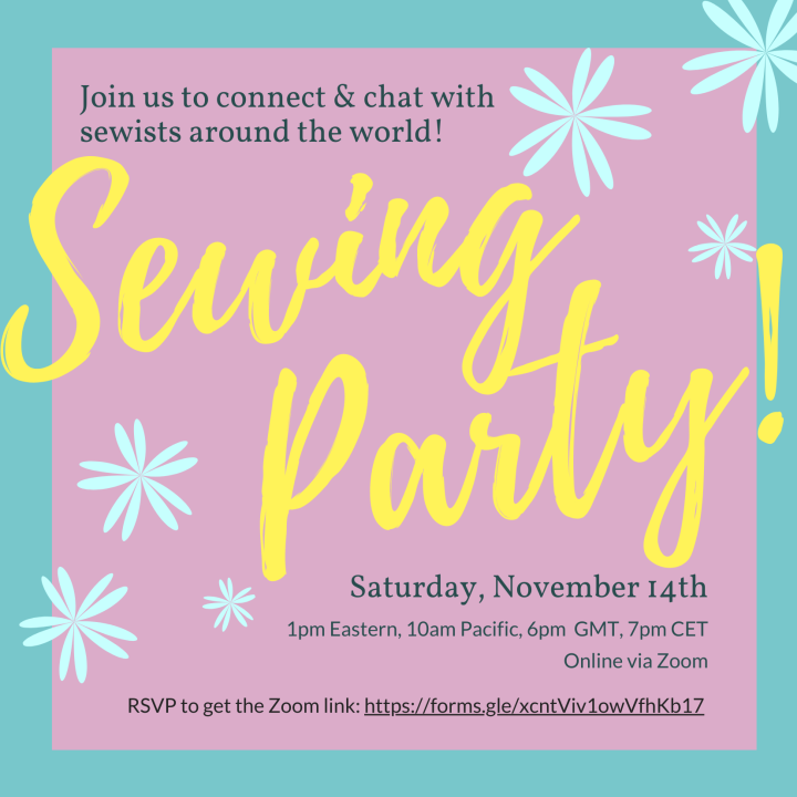 Sewing Party Invitation